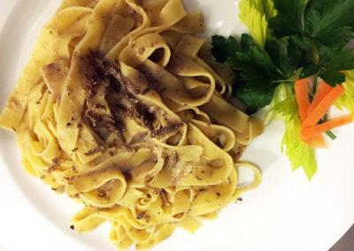 fettuccine tartufate_ristorante_i_Daviddino_Little_David_pizzeria_firenze_centro